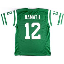 Joe Namath Jets On-Field Style Custom Stitched Jersey (Size XL)