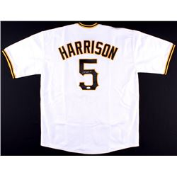 Josh Harrison Signed Pirates Jersey (JSA COA)