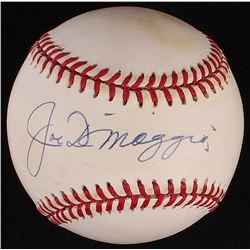 Joe DiMaggio Signed OAL Baseball (JSA LOA)