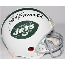 Joe Namath Signed Jets Full-Size Authentic Pro-Line Helmet (PSA LOA)