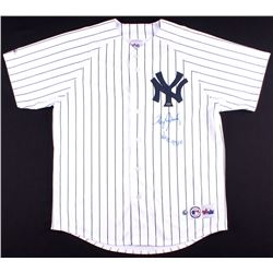"Roger Clemens Signed Yankees Jersey Inscribed ""WSC 99, 00"" (MLB & Mounted Memories Hologram)"