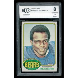 Walter Payton 1976 Topps #148 RC (BCCG 8)