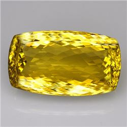 Natural Lemon Citrine Gemstone 140.55 Carats - VVS