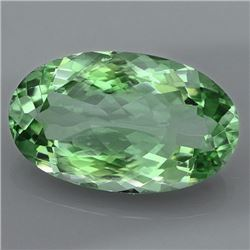 Natural Healing Green Color Amethyst 24.20 Cts - VVS
