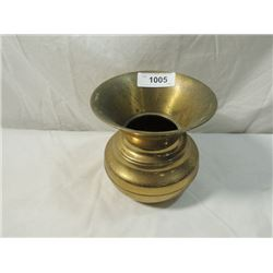 "BRASS SPITTOON 7"" ACROSS  7"" TALL"