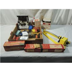 BOX LOT TOOLS WOODWORKING JIGS PATTERNS MORE