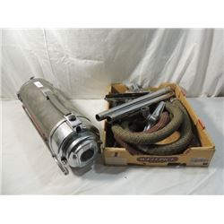 VINTAGE ELECTROLUX CANISTER VACUUM & ATTACHMENTS