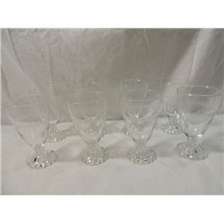 LOT 8 VINTAGE IMPERIAL CANDLEWICK BOOPIE GLASS