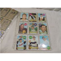 38 CARD LOT OLD BASEBALL CARDS TOPPS W@W