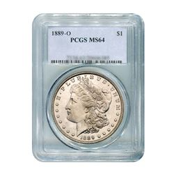 1889-O $1 Morgan Silver Dollar - PCGS MS64