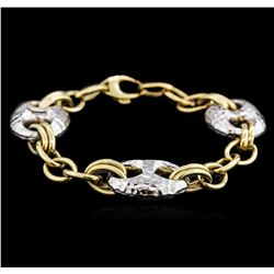 14KT Two-Tone Gold Fashion Bracelet