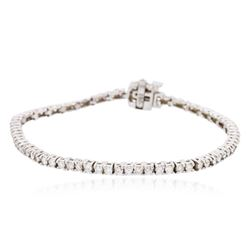 18KT White Gold 2.55ctw Diamond Tennis Bracelet