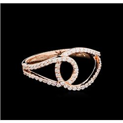0.32ctw Diamond Ring - 14KT Rose Gold