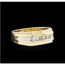 0.30ctw Diamond Ring - 14KT Two-Tone Gold