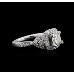 14KT White Gold 1.30ctw Diamond Ring