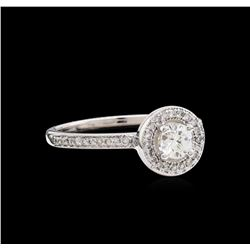 0.50ctw Diamond Ring - 14KT White Gold