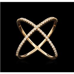 0.50ctw Diamond Ring - 14KT Rose Gold