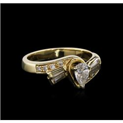 0.65ctw Diamond Ring - 14KT Yellow Gold