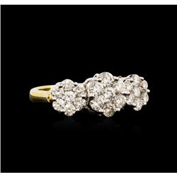 18KT Yellow Gold 1.80ctw Diamond Ring