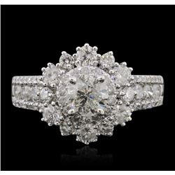14KT White Gold 1.89ctw Diamond Ring