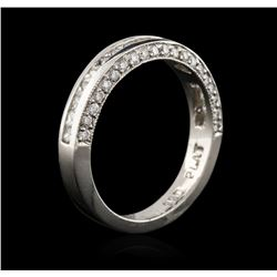 Platinum 0.75ctw Diamond Ring