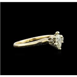 0.46ctw Diamond Ring - 14KT Yellow Gold