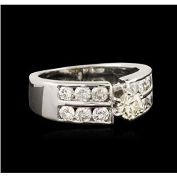 14KT White Gold 0.75ctw Diamond Ring