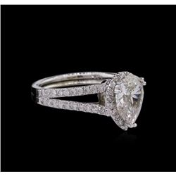 2.01ctw Diamond Ring - 14KT White Gold