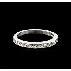 0.10ctw Diamond Ring - 14KT White Gold