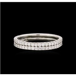 0.85ctw Diamond Ring - 18KT White Gold