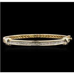 14KT Yellow Gold 1.49ctw Diamond Bracelet