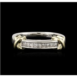 14KT Two-Tone Gold 0.40ctw Diamond Ring
