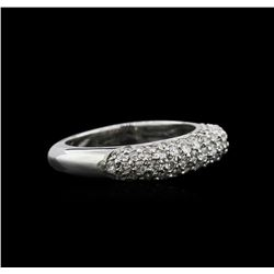 0.80ctw Diamond Ring - 14KT White Gold
