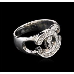 0.41ctw Diamond Ring - 14KT White Gold