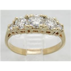 0.85ctw Diamond Ring - 14KT Yellow Gold