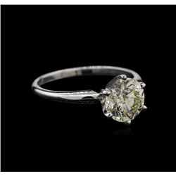 1.62ct Diamond Ring - 14KT White Gold