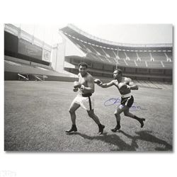 Ken Norton and Ali, Yankee Stadium 2005 by Ken Norton (1943-2013)