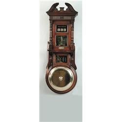 Gamewell Fire Alarm Telegraph Company http://www.icollector.com/RARE-FIRE-HOUSE-AUTOMATIC-ALARM-INDICATOR-GONG-BY-THE-GAMEWELL-FIRE-ALARM-TELEGRAPH-COMPANY-NY_i859083