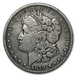 1878-S Morgan Dollar Long Nock