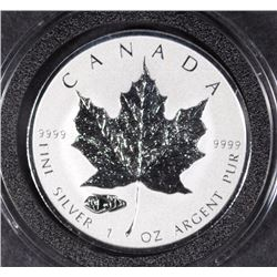 2016 Canada $5 1 Oz Reverse Proof Silver Maple Leaf Mark V Tank Privy