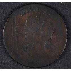1798 DRAPED BUST LARGE CENT FINE DETAILS with many scratches on obverse