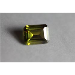 Top Quality Yellowish/Green Sapphire 2.56 Carats