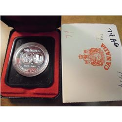 1974 CANADA WINNIPEG SILVER DOLLAR PROOF .3750 OZ. ASW, ORIGINAL ROYAL CANADIAN MINT PACKAGING