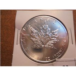 2013 CANADA SILVER $5 MAPLE LEAF (PF LIKE)