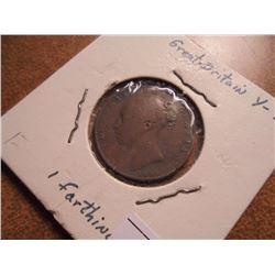 1845 GREAT BRITAIN FARTHING
