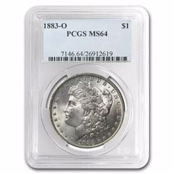 1883-O Morgan Dollar MS-64 PCGS