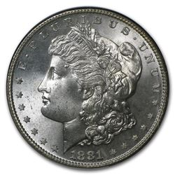 1881-S Morgan Dollar MS-63 NGC