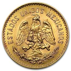 Gold Mexico 5 Pesos AGW .1205