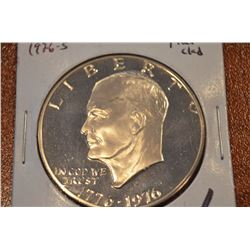 1976-S Proof Ike Dollar UNC