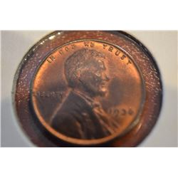 1936 Lincoln Cents RED UNC